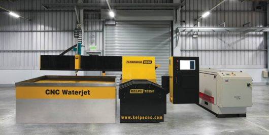 CNC Waterjet Cutting Machines - Flybridge X020